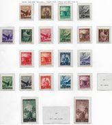 1946 1948 DEMOCRATICA  SERIE Senza 30 E 100 Lire  NUOVO MNH - 1946-60: Nuovi