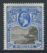 St. Helena SG 76, Mi 44 * MH - Saint Helena Island