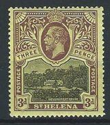 St. Helena SG 77, Mi 45 * MH - Saint Helena Island