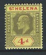 St. Helena SG 66, Mi 37 * MH - Saint Helena Island