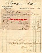 36- CHATEAUROUX- RARE FACTURE BOUSSAC JEUNE- TISSUS CONFECTION- 1894 - 1800 – 1899