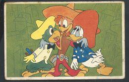 +++ CPA - Carte Fantaisie - DISNEY - Les Trois Caballeros - Donald   // - Autres