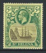 St. Helena SG 95, Mi 62 * MH - Saint Helena Island