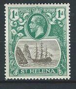 St. Helena SG 98, Mi 65 * MH - Saint Helena Island