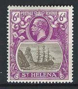 St. Helena SG 104, Mi 70 * MH - Saint Helena Island