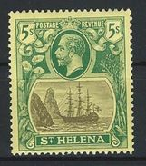 St. Helena SG 110, Mi 76 * MH - Saint Helena Island