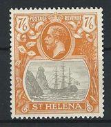 St. Helena SG 111, Mi 77 * MH - Saint Helena Island