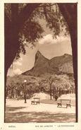 CPA Brésil Rio De Janeiro Le Corcovado PO 163 - Rio De Janeiro