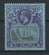 St. Helena SG 113, Mi 79 * MH - Saint Helena Island