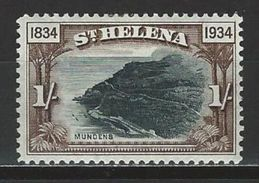 St. Helena SG 120, Mi 86 * MH - Saint Helena Island