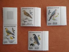 Oiseaux Birds France 1984 Yv 2337/40 Scott 1938/41 Michel 2463/6  SG 2643/6 - Oiseaux