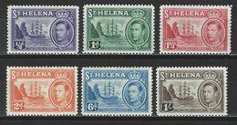St. Helena SG Ex 131-37, Mi Ex 97-107 * MH - Saint Helena Island