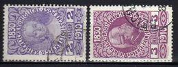 Österreich 1910 Mi 162-163, Gestempelt [090118XVIII] - 1850-1918 Impero