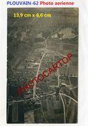 PLOUVAIN-PHOTO Aerienne Allemande + 1Photo-Guerre 14-18-1 WK-France-62-Militaria- - Other Municipalities