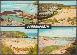 Multiview, Perranporth, Cornwall, C.1980 - John Hinde Postcard - England