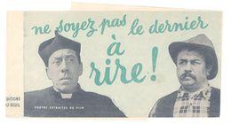 """Feuillet """" Le Petit Monde De Don Camillo """" ( Fernandel ), éditions Du Seuil - Livres, BD, Revues"""