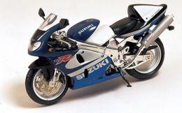 Suzuki TL 1000R - Blue & White - Ixo (1/24) - Motorcycles