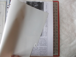 COPIE Cirque Pinder Documents Sur La Tournée 1989 Probable Copies - Vecchi Documenti