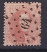 N° 14 A  LP 64 BRUXELLES OUEST - 1863-1864 Médaillons (13/16)