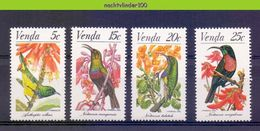 Ncf111 FAUNA VOGELS BLOEMEN FLOWERS BIRDS VÖGEL AVES OISEAUX VENDA 1981 PF/MNH - Verzamelingen, Voorwerpen & Reeksen