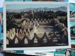 Saoedi Arabië Saudi Arabia Najran Oasis Clay House - Saoedi-Arabië
