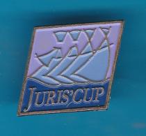 52740-Pin's.la JURIS'CUP Est La Plus Grande Régate Corporative D'Europe.Voile. - Boats