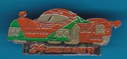 52773-Pin's.Mazda.24h Du Mans 91.rallye Automobile.F1 - F1