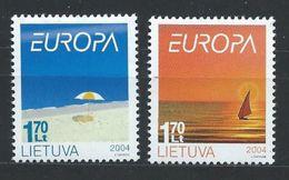 Lituanie YT 736-737 XX / MNH Europa - Lituanie