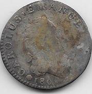 Italie - Sardaigne - 7,6 Soldi 1800 - Argent - Regional Coins