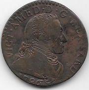 Italie - Sardaigne - 5 Soldi - 1796 - Regional Coins