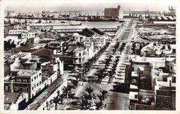 Cpsm Format Cpa (timbres)  Maroc Casablanca Le Boul Du 4e Zouaves Et Le Pont (animée) PO 1665 - Casablanca
