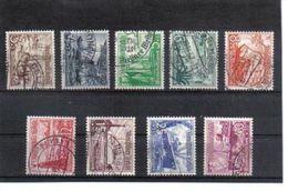 POL1605  DEUTSCHES REICH 1937  MICHL 651/59  Used / Gestempelt Siehe ABBILDUNG - Deutschland