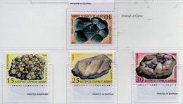 PIA - CIPRO GRECA - 1998 : Minerali Di Cipro  - (Yv 911-14) - Minerali