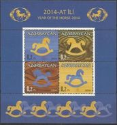 AZ-2014- CHINES NEW YEAR, ASERBEDIAN, S/S, MNH - Astrologie
