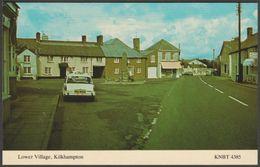 Lower Village, Kilkhampton, Cornwall, 1987 - Kingsley Postcard - England