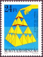 SIERPINSKI, W. - Hungary 1996 Michel # 4395 ** MNH - Mathematics, Sierpinski Tetrahedron, Fractal - Wetenschappen