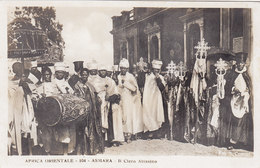 ASMARA - ERITREA  - AFRICA ORIENTALE -  Colonia Italiana - A.O.I. /  IL Clero Abissino - Eritrea