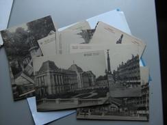 Lot Of 19 Postcards België Belgique Brussel Bruxelles Nice Old - Postkaarten