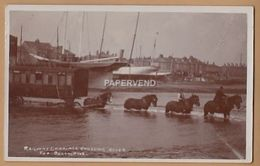 Sussex SHOREHAM ON SEA Railway Carriage Crossing River For Bungalows  RP     Sx221 - Brighton