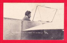Aviation-446Ph67  Pau, L'aviateur GIBERT Sur Son Blériot, Cpa BE - Aviateurs