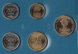 VIETNAM SET 5 MONNAIES 200 DONG - 5000 DONG 2003 - Viêt-Nam