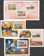 P739 2004 DE GUINEE SPACE CONQUETE DE MARS OPPORTUNITY !!! 3BL+1KB MNH - Raumfahrt