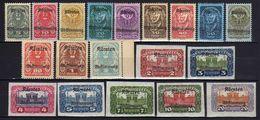 Österreich 1920 Mi 321-339 * [090118XVIII] - 1918-1945 1st Republic