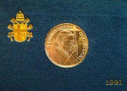 CITTA' DEL VATICANO - ANNO 1991 - 500 £ - Dottrina Sociale Della Chiesa  - 500 L. Argento - Tiratura 40.000 - Vatican
