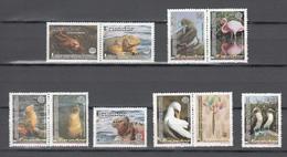 Ecuador 2002,10V (4x2+2V),birds,vogels,vögel,oiseaux,pajaros,uccelli,aves,MNH/Postfris(A3530) - Oiseaux