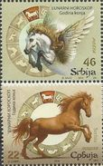 SRB 2014-540-41 Chinese New Year, SERBIA, 1 X 2v, MNH - Astrologie