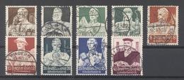 Dt. Reich Mi.Nr. 556-564 Nothilfe 1934 Gestempelt (20234) - Deutschland