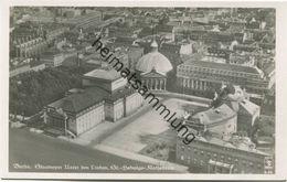 Berlin-Mitte - Staatsoper Unter Den Linden - St. Hedwigs- Kathedrale - Foto-AK Fliegeraufnahme 20er Jahre - Verlag Klink - Mitte