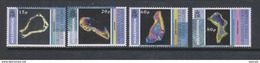 Yvert 225 / 228 ** Neuf Sans Charnière MNH îles - British Indian Ocean Territory (BIOT)