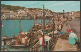 North Pier, Newlyn, Cornwall, 1979 - Salmon Postcard - England
